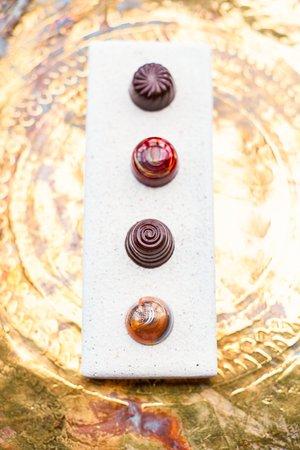 Gidleigh Park: Chocolates