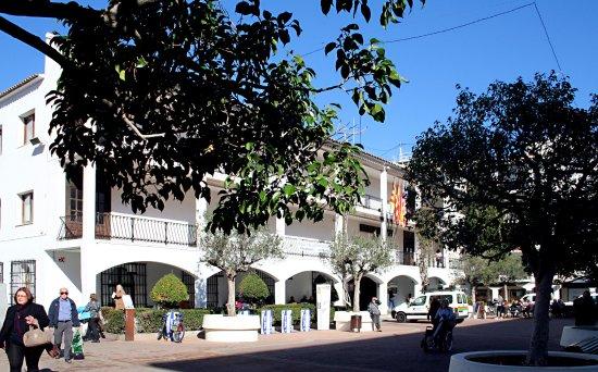 Plaza del Ayuntamiento de Altea