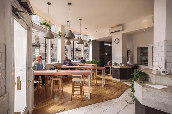 Great Coffee Shop Cairngorm Coffee Co West End Edinburgh