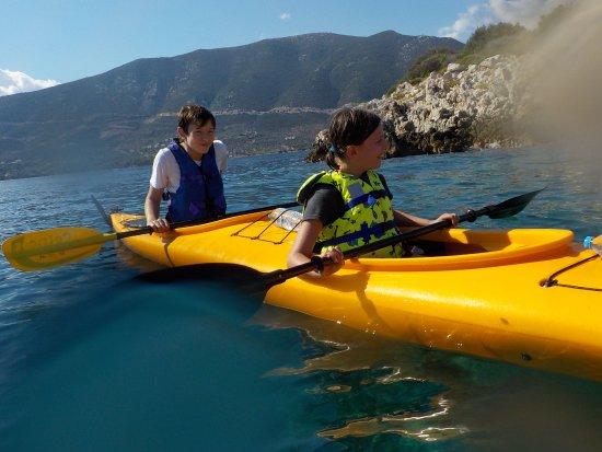 Tribal Kayak: Since 2012 gourmet sea kayaks around the beautiful coastline of Argolida at PeloponisosGreece