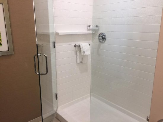 Douglas, GA: King Rooms and King Suites have walk-in showers