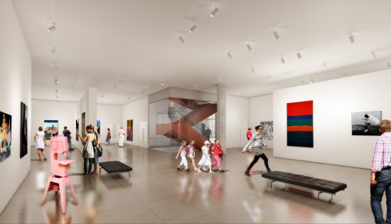 Ottawa, Canadá: OAG Gallery Space Rendering
