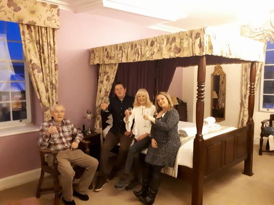 Rutland Arms Hotel Bakewell: Jane Austin room