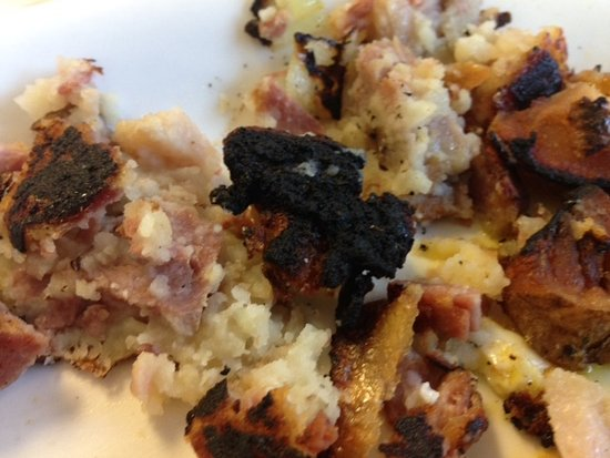 Becky Thatcher's Diner: Burned Hash
