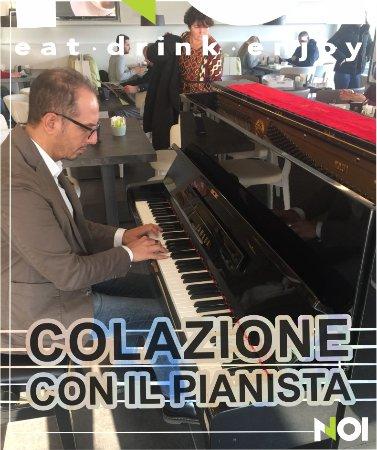 Colazione con il Pianista  La TUA colazione solo da NOI !!! Domenica mattina !!!