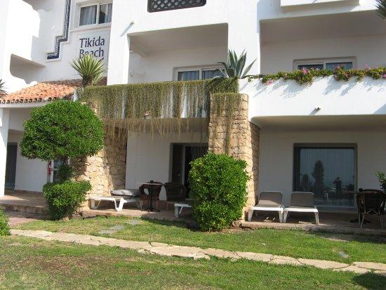 Hotel Riu Tikida Beach: Rez de chaussée face à la mer