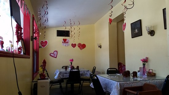 Seiad Valley, Californië: Valentines decorations