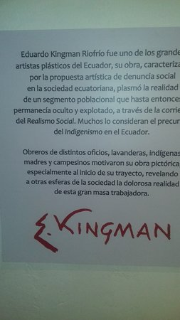 San Rafael, Ecuador: Informacion del artista