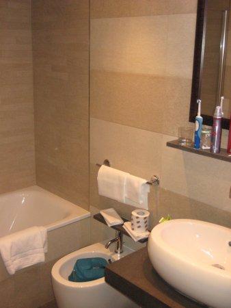 """Hotel Morgana: und ein kleines Bidet für """"danach"""" :-)"""