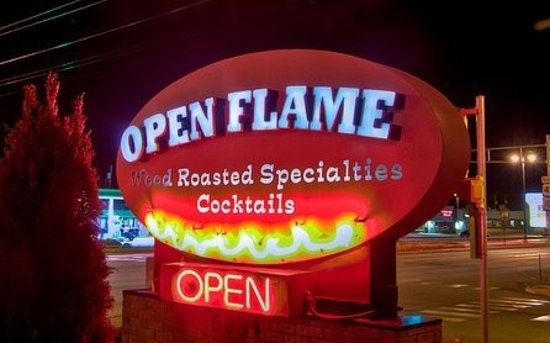 Hales Corners, WI: Open Flame