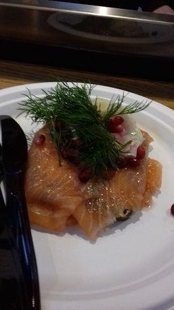 Hallernes: salmon