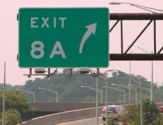 95 Garden state Parkway exit 8A to Jamesburg - Picture of Mendoker\'s ...