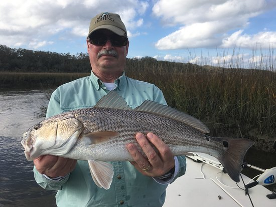 North Florida Fishing Charters: 25 inch red fish