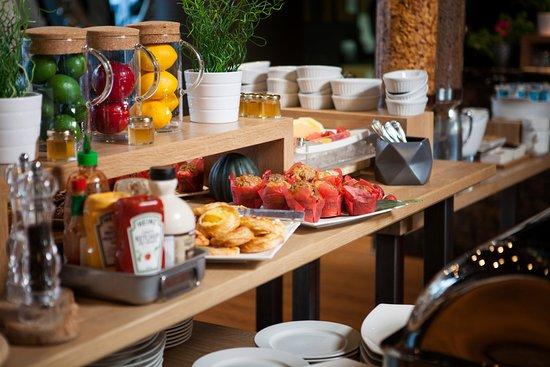 Hotel 10: Breakfast Buffet served daily