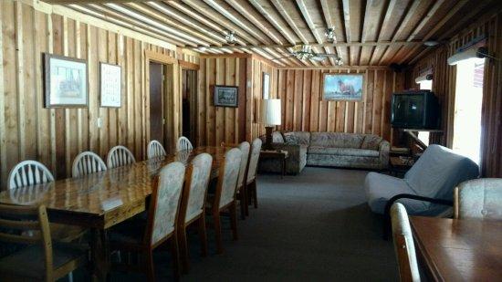 De Borgia, MT: Bunkhouse Diningroom