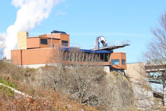 SKYWALK Saint John: View from the Side