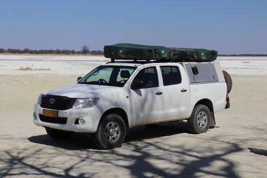 Windhoek, Namibia: 4 x 4 prêt pour la route