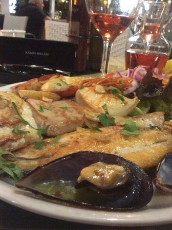 El Olivo Restaurant Gastrobar: Mixed fish