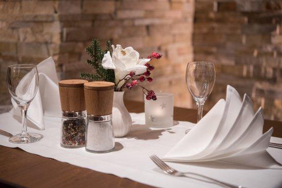 Amtzell, Alemanha: gedeckter Tisch