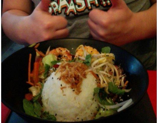 Tuk Tuk Asian Street Food Goya: Arroz con gambas!
