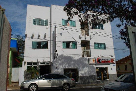 Campos Gerais, MG: Fachada
