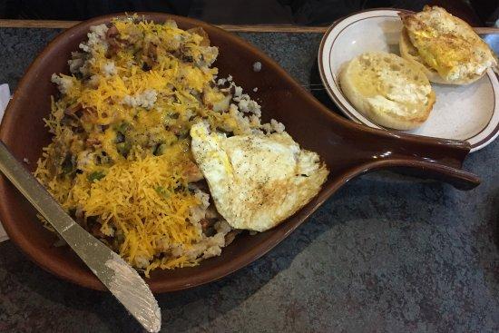 Bevs Cafe - Red Wing, Minnesota - Rivertown Skillet Breakfast