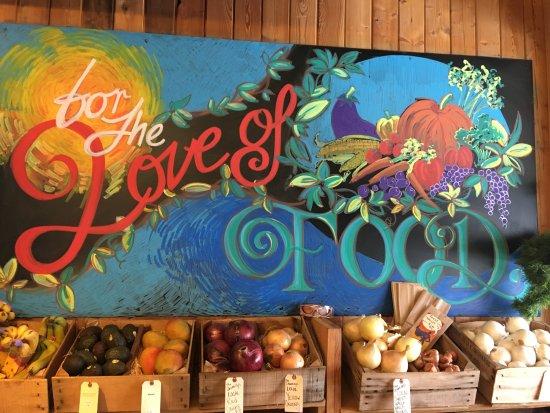 Twisp, WA: Inside Glover Street Market...