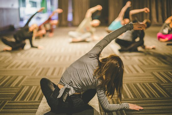 Yoga Classes At Basecamp Picture Of Whitney Peak Hotel Reno Tripadvisor