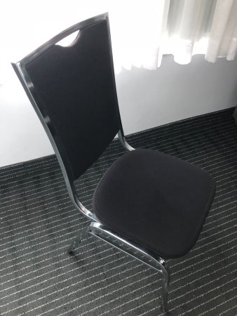 The Tower Hotel: Our Second Chair ..Classy lol