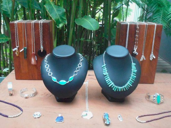 Jewellery @ Rainforest Gems Gallery - Tolga, Queensland