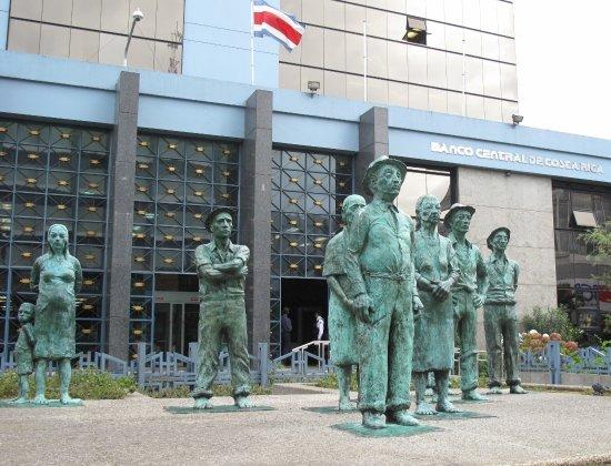 Central Bank Banco Bronzes Costa Rica