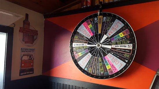 Pub 32: Wheel of Fortune
