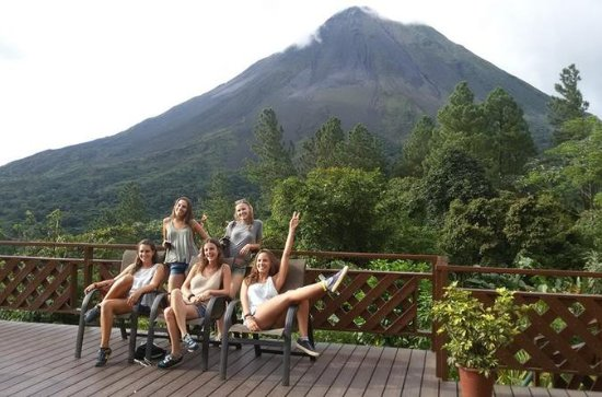 La Fortuna to Arenal Observatory and