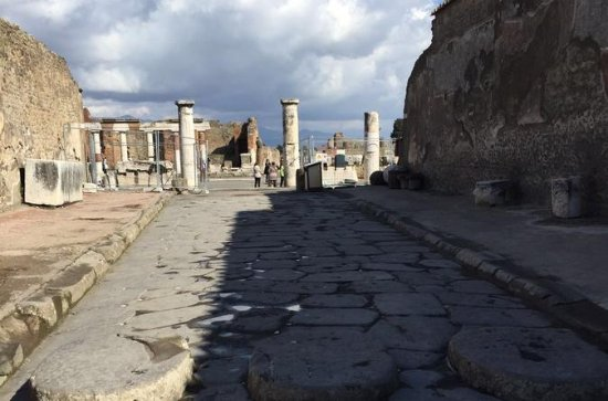 Day Tour of Pompeii Herculaneum and...
