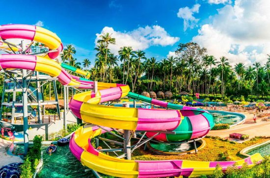Admission Ticket to Samui Water Park Pink Elephant