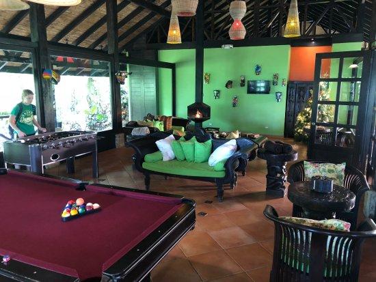 Rio Celeste Hideaway Hotel: Game room
