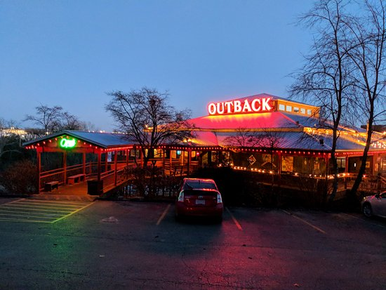 Outback Steak & Oyster Bar: From the parking lot
