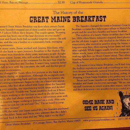 Jeannie's Breakfast : photo0.jpg