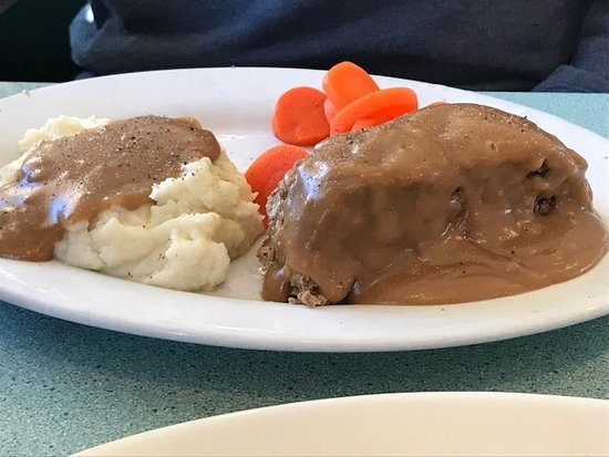 Exeter, Nueva Hampshire: meatloaf dinner