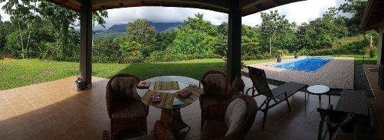 Ciudad Cortes, Costa Rica: View from terrace