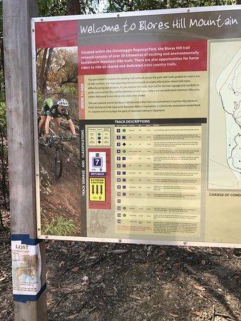 Heyfield, Australia: Blores Hill Mountain Bike Park
