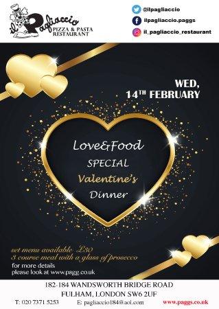 St Valentine S Day Is Coming Picture Of Il Pagliaccio Restaurant