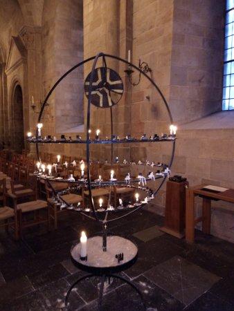 Lund, Sweden: Внутри кафедрального собора.