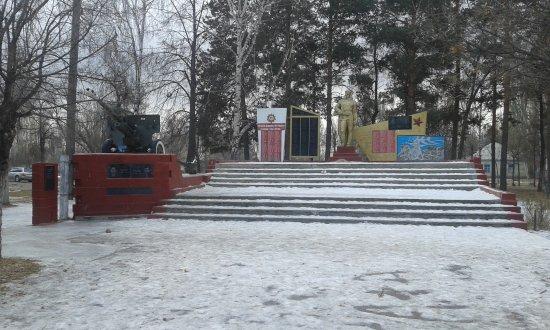 Grigoryevka, Kirgistan: Памятник павшим в великой отечественной войне, воинам Афганистана.