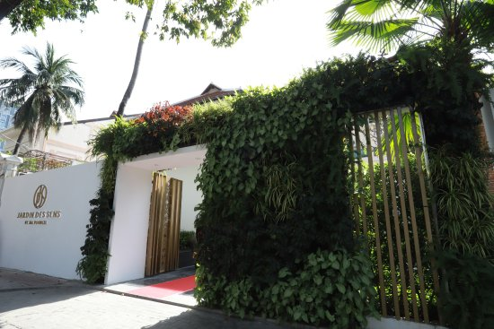 Entrance Picture Of Jardin Des Sens Ho Chi Minh City Tripadvisor