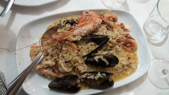Terzo, İtalya: Risotto ai frutti di mare