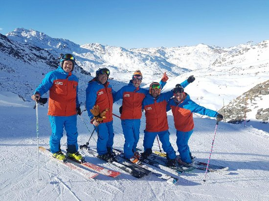 Oxygene instructors team Val Thorens