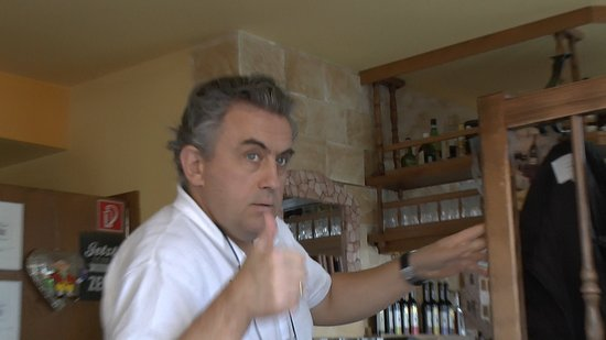 Porto Bello Restaurant: Der Chef