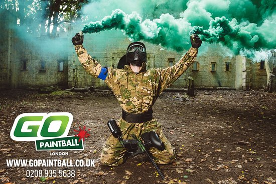 ‪GO Paintball London‬