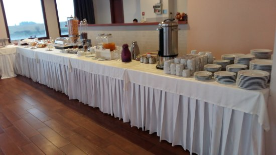 Siris Hotel: Ο μπουφές του πρωινού